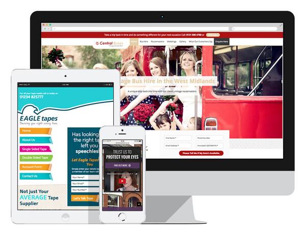 Melt Responsive Website Design