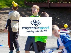 Progressive sports website logo