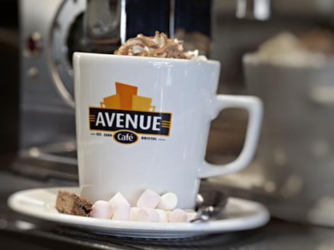 Avenue cafe Website by Melt Design