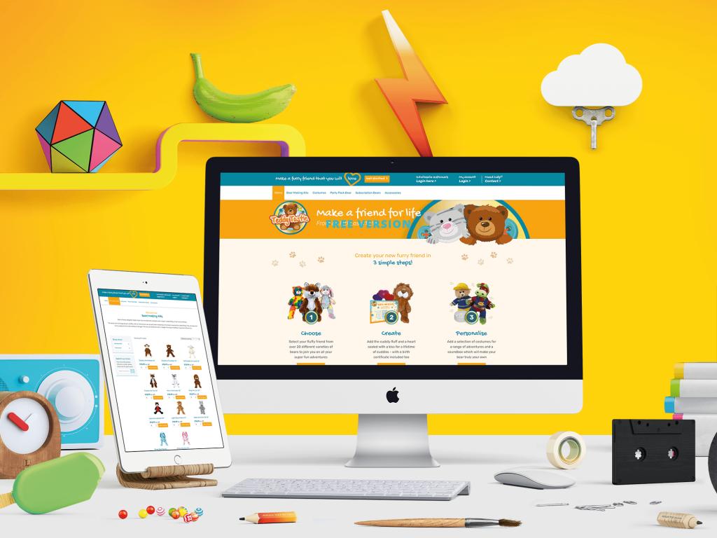 Teddy Bear Ecommerce Website Design and Development