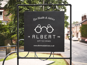 Albert Road Opticians Website Design & Development