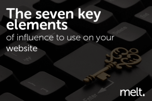 The seven key elements of influence to use on your website