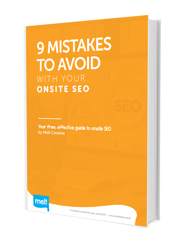Melt SEO Guide - 9 Mistakes