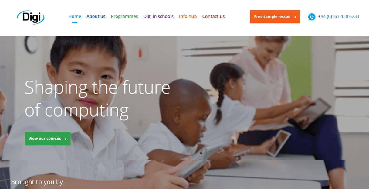 Digi Website By Melt Design
