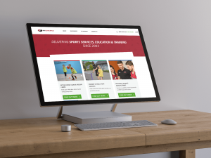 Sports Coaching Website Design