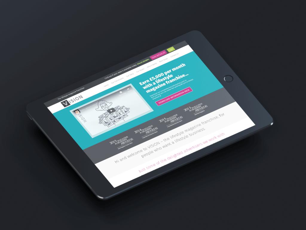 Vision Mag Wordpress Website Design