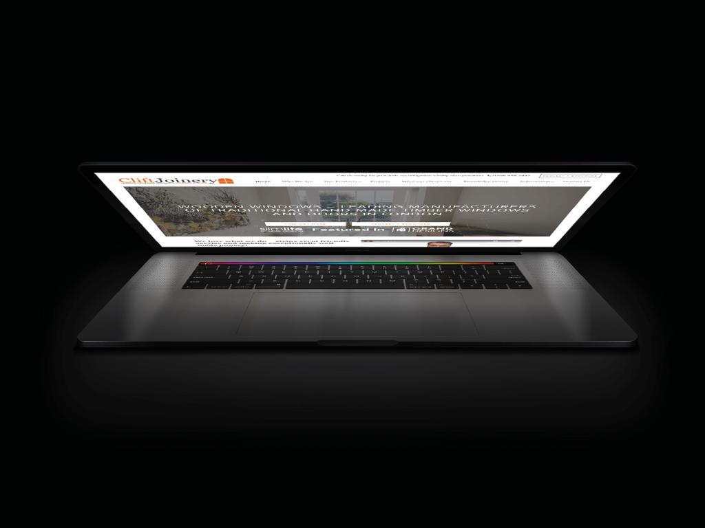 Window Joinery Website Design