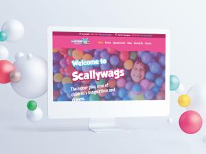 Scallywags Indoor Play Centre Website Design