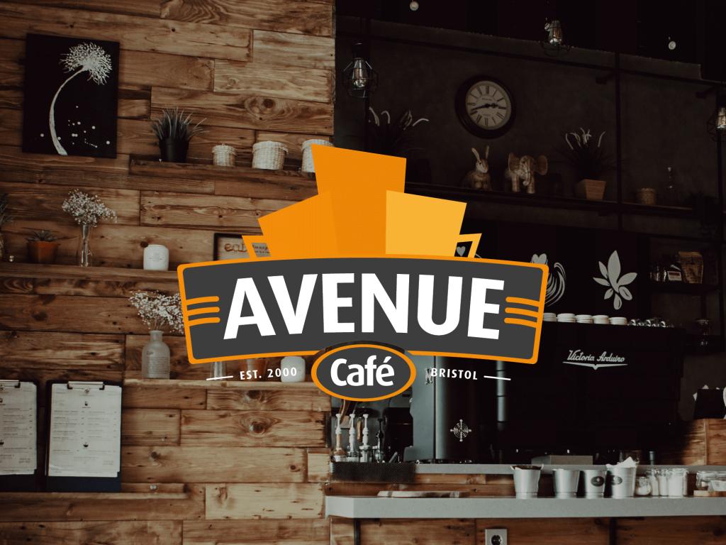 Avenue Cafe Branding Design