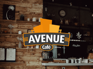 Avenue Cafe Branding Design