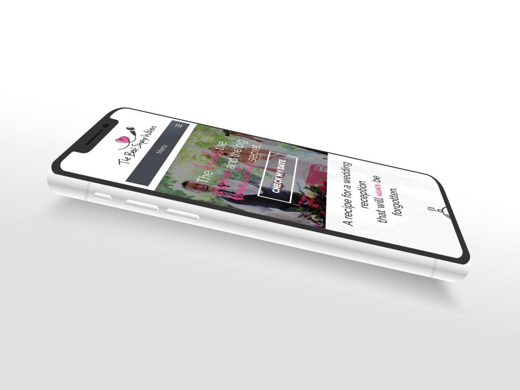 Best Singing Waiters - Website Design
