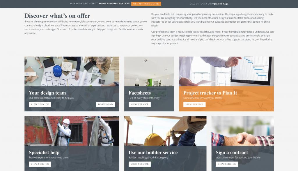 Home Building Wordpress Website Development