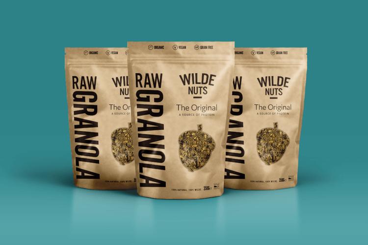 Wilde Nuts Packaging Design