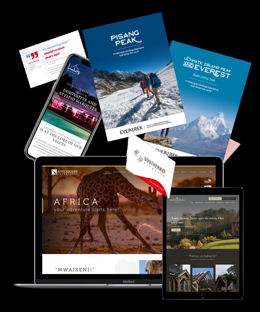 Web Design - Graphic Design - Marketing Design