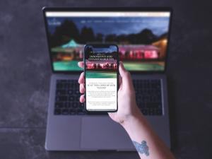 Lulu's Marquees Website Design by Melt Design